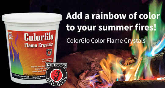 Red Devil ColorGlo Flame Crystals