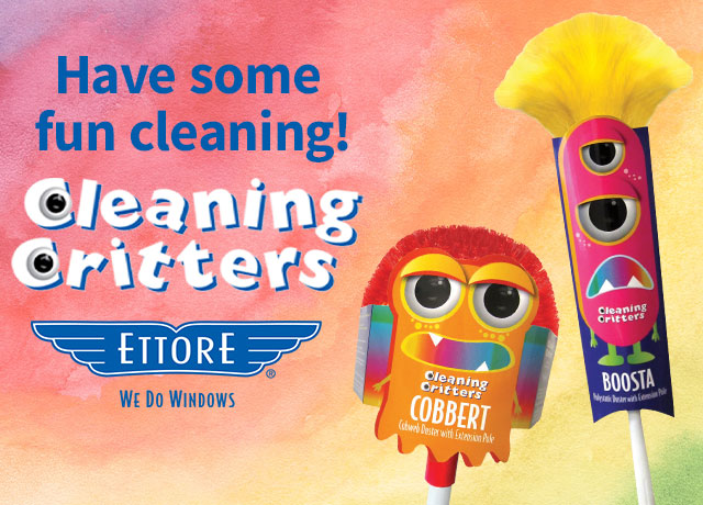 Ettore Cleaning Critters