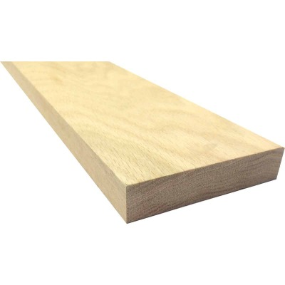 Waddell 1 In. x 4 In. x 6 Ft. Red Oak Board