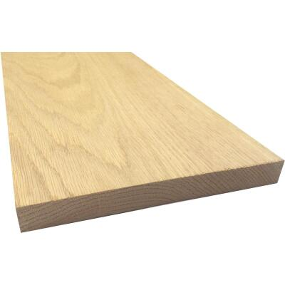 Waddell 1 In. x 8 In. x 3 Ft. Red Oak Board
