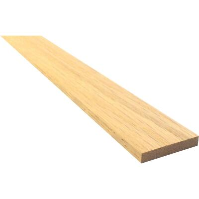 Waddell 1/4 In. x 2 In. x 4 Ft. Red Oak Board