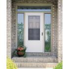 Larson Lifestyle MULTI-VENT 32 In. W x 80 In. H x 1 In. Thick White Mid View DuraTech Storm Door Image 3