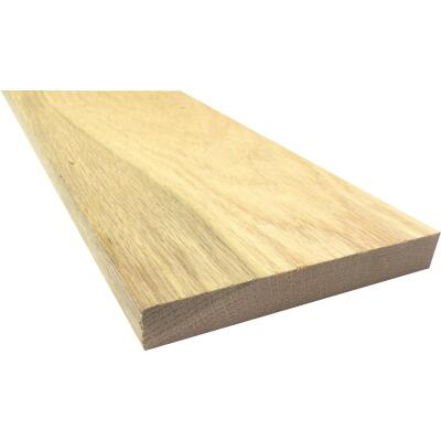 Waddell 1 In. x 6 In. x 8 Ft. Red Oak Board