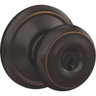 Schlage Georgian Aged Bronze Entry Door Knob  Image 1