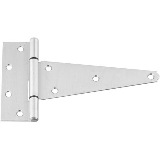National 8 In. Stainless Steel Extra Heavy Tee Hinge
