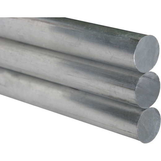K&S 1/4 In. x 12 In. Solid Stainless Steel Rod