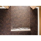 Surface Shields Carpet Shield 21 In. x 30 Ft. Self-Adhesive Film Floor Protector Image 2