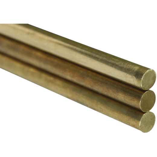 K&S 1/16 In. x 36 In. Solid Brass Rod (2-Count)