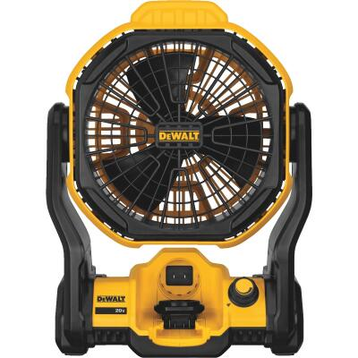 DeWalt 20 Volt Lithium-Ion 17 In. Corded/Cordless Jobsite Fan (Bare Tool)