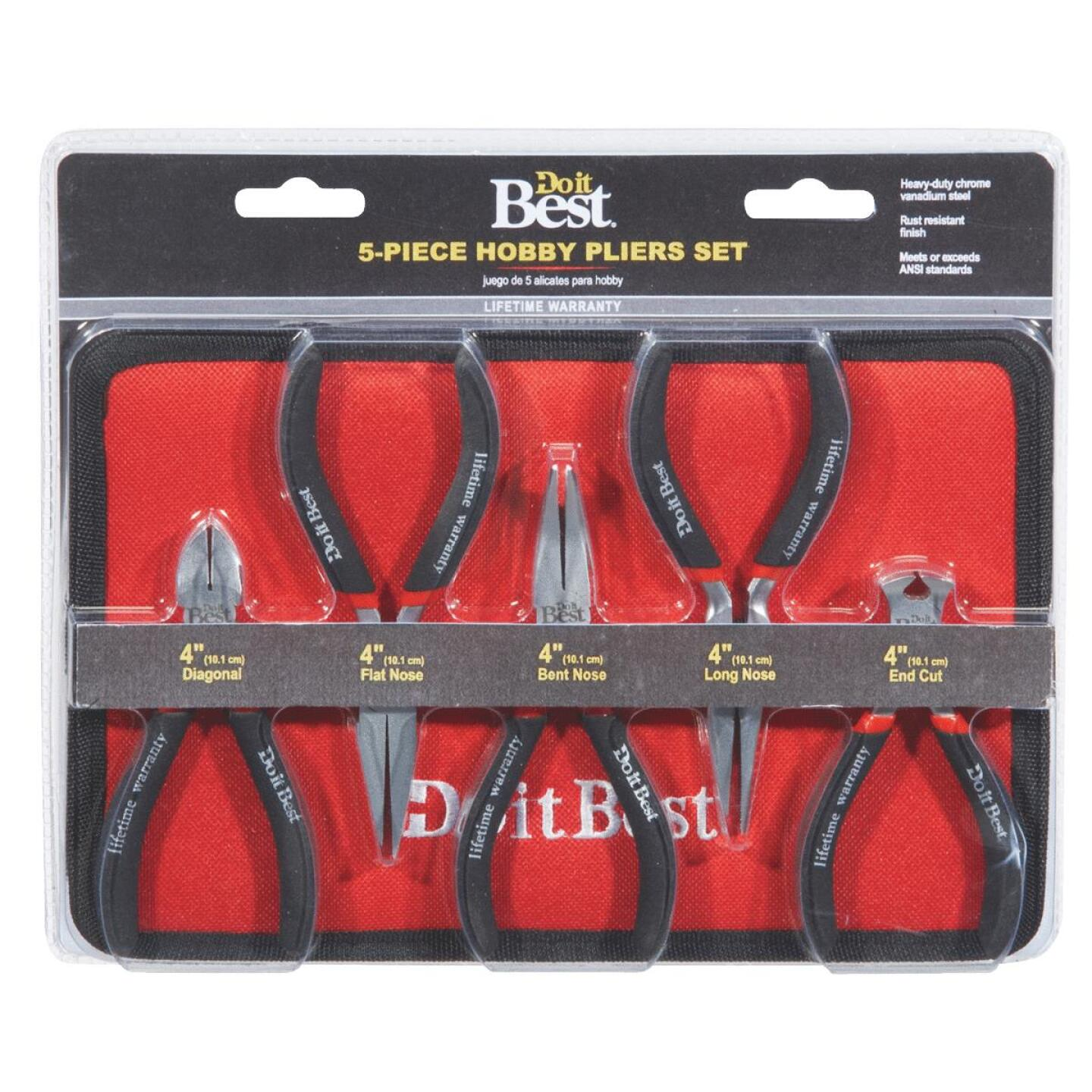 Do it Best Hobby Pliers Set (5 Piece) Image 3