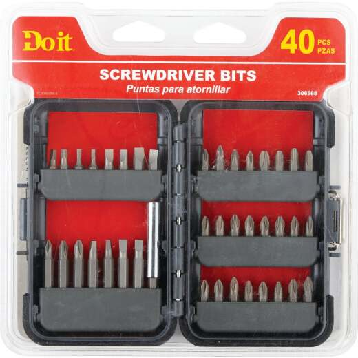 Do it 40-Piece Screwdriver Bit Set