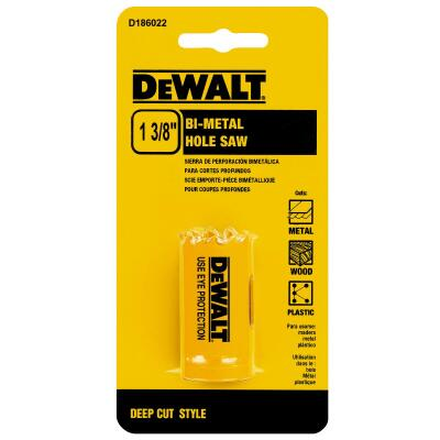 DeWalt 1-3/8 In. Bi-Metal Hole Saw