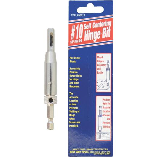 Best Way Tools #10 1/8 In. Hinge Drill Bit