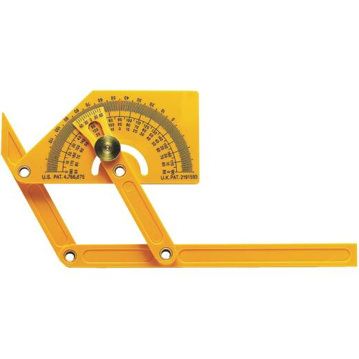 General Tools Plastic Protractor and Angle Finder