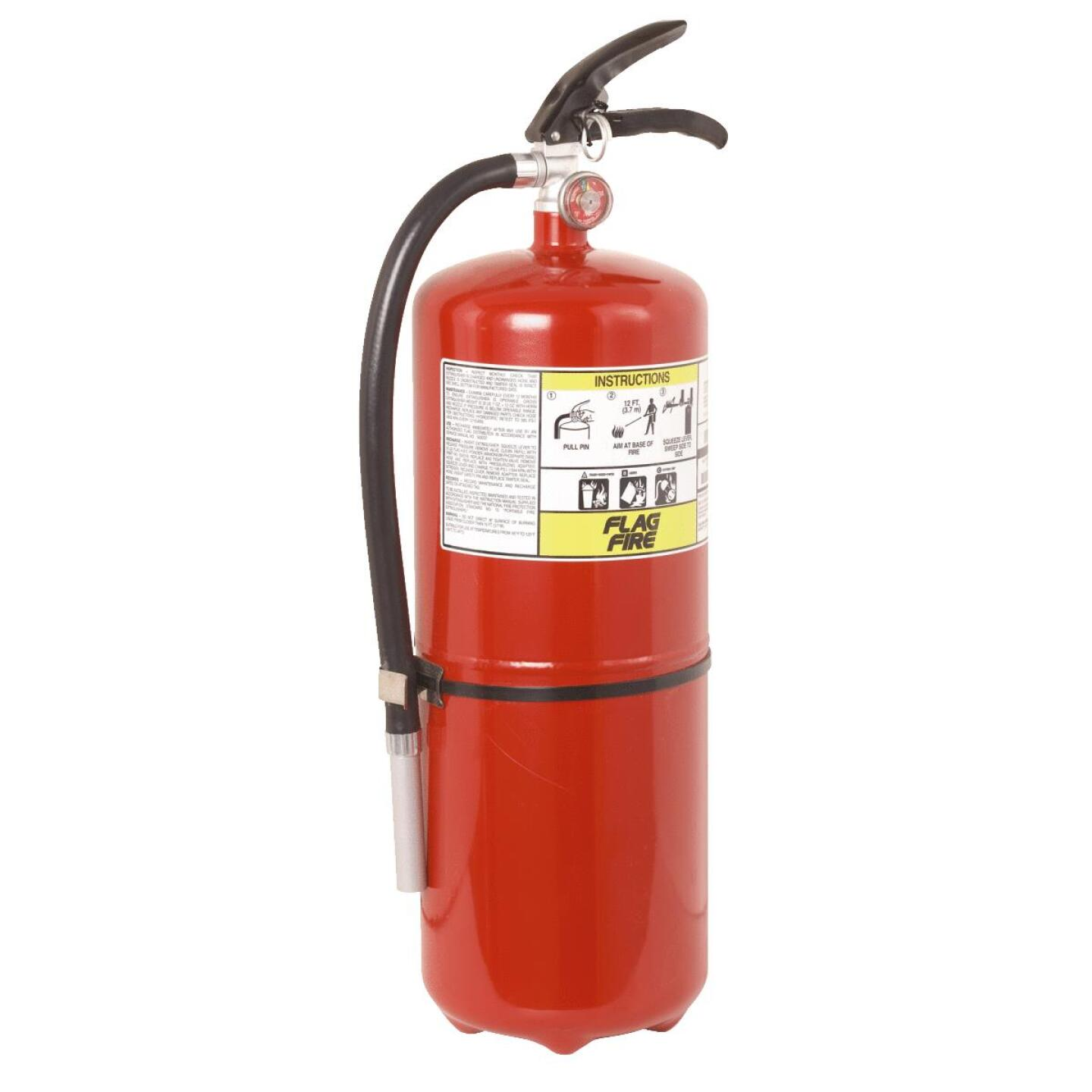 First Alert 20-A:120-B:C Rechargeable Commercial Grade Fire Extinguisher Image 1