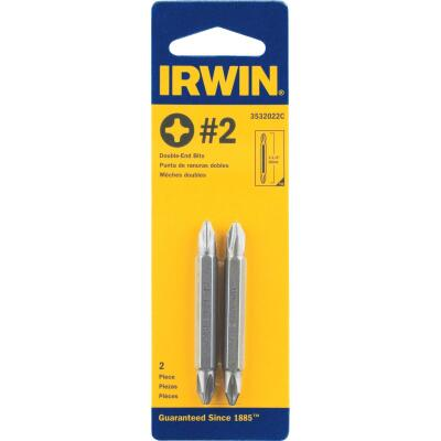 Irwin Phillips #2 Phillips Double-End Screwdriver Bit