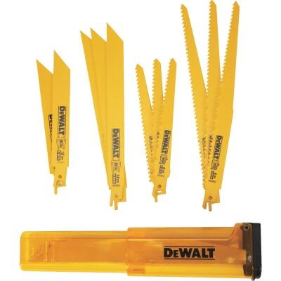 DeWalt 12-Piece Reciprocating Saw Blade Set