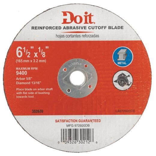 Do it 6-1/2 In. Type 1 Cut-Off Wheel
