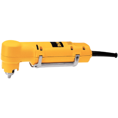 DeWalt 3/8 In. 3.2-Amp Keyed VSR Electric Angle Drill