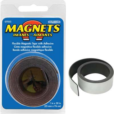 Master Magnetics 30 in. x 1 in. Magnetic Tape