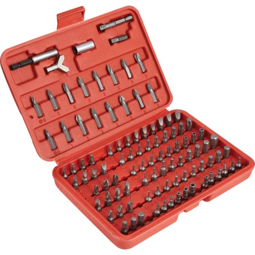 Best Way Tools 100-Piece Screwdriver Bit Set