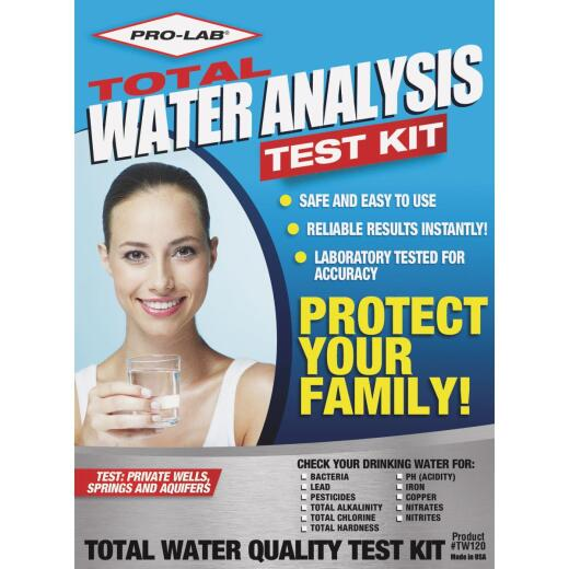 Pro Lab Instant Results Total Water Quality Test Kit
