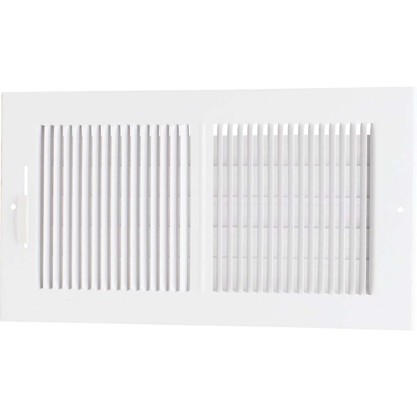 Accord 12 In. x 6 In. White Wall Register Image 1