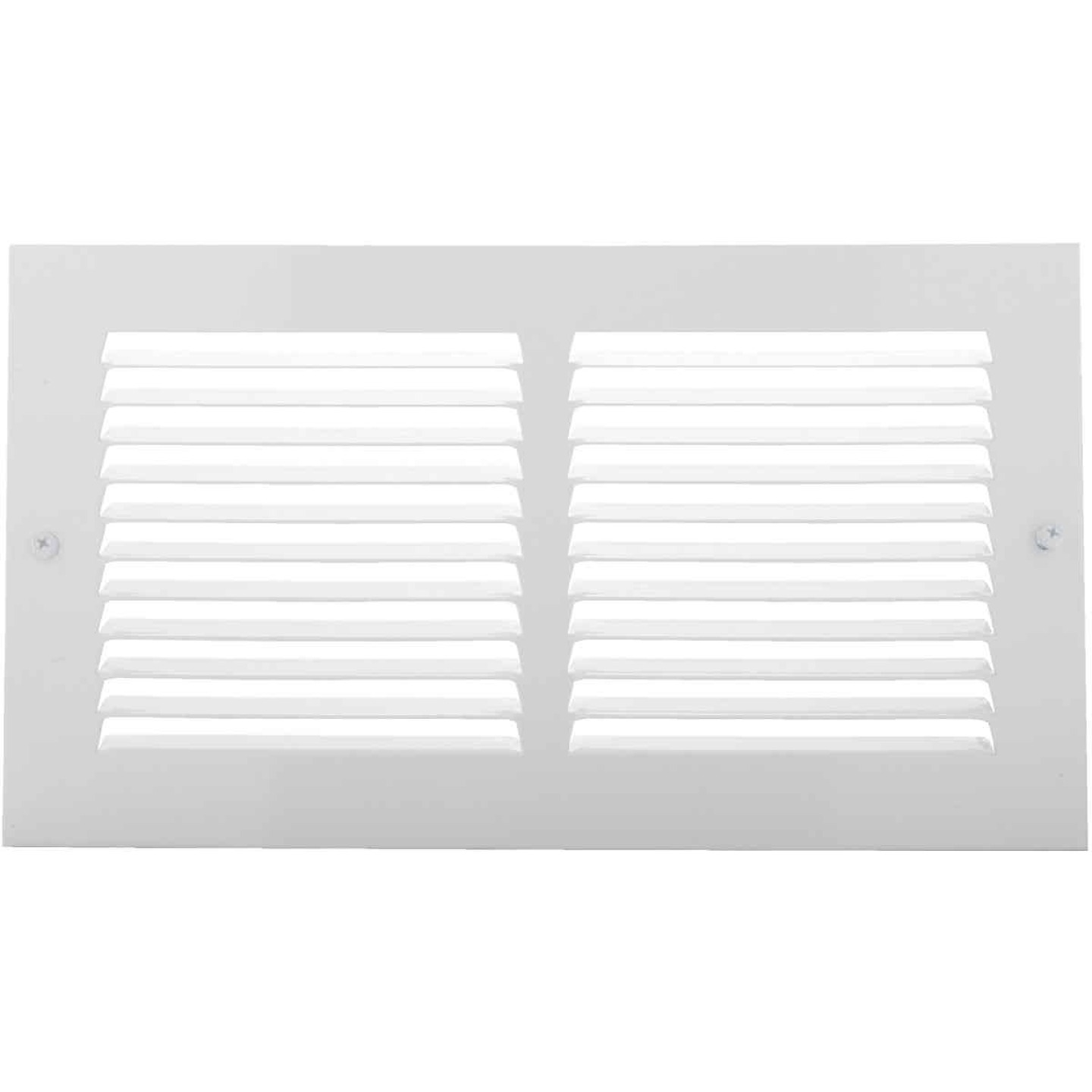 Home Impressions 6 In. x 12 In. Stamped Steel Return Air Grille Image 1