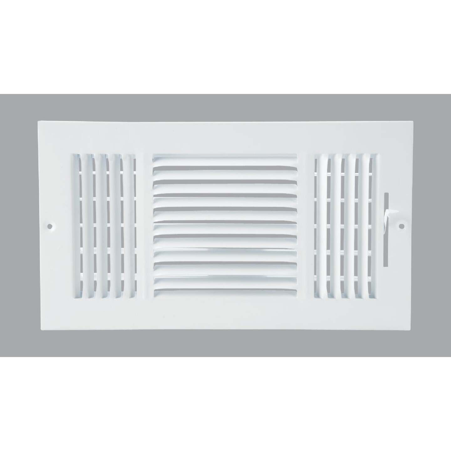 Home Impressions White Steel 7.76 In. Wall Register Image 1