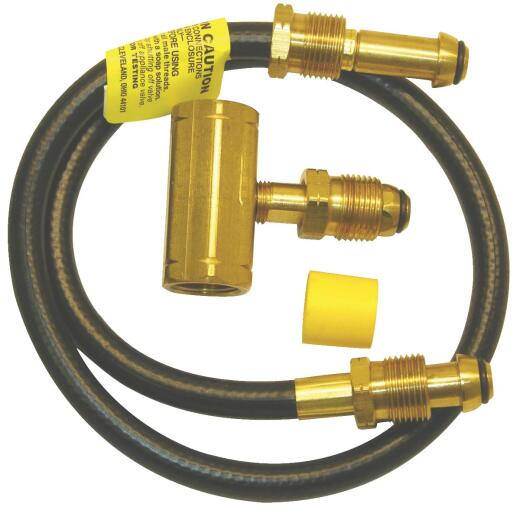 MR. HEATER 30 In. x POL Female x POL Female x POL Male LP Hose Assembly