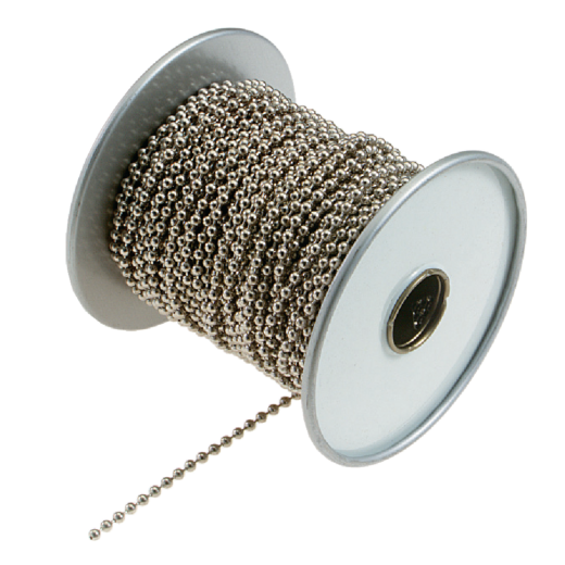 Lucky Line #10 100 Ft. Nickel Finished Stainless Steel Ball Chain