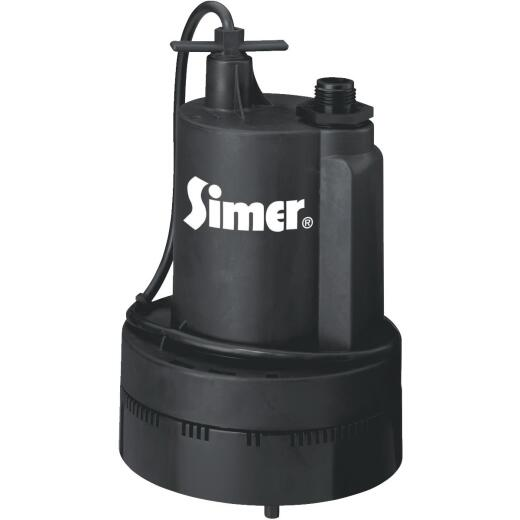 Simer 1/3 H.P. 115V Submersible Utility Pump