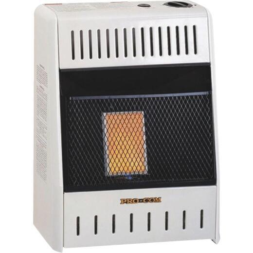 ProCom 6000 BTU Natural Gas Vent-Free Infrared Plaque Gas Wall Heater