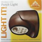 Light It Bronze 100 Lm. LED Battery Operated Security Light Fixture Image 2