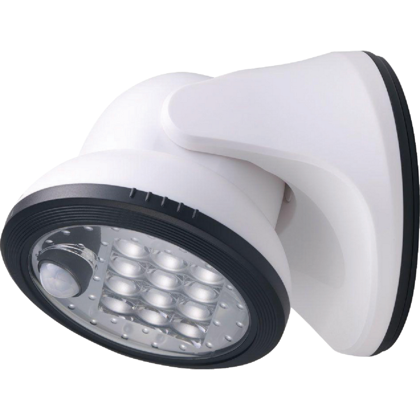 Light It White 275 Lm. LED Battery Operated Security Light Fixture Image 1
