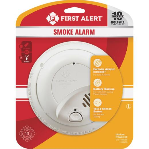 First Alert Hardwired 120V Ionization Smoke Alarm
