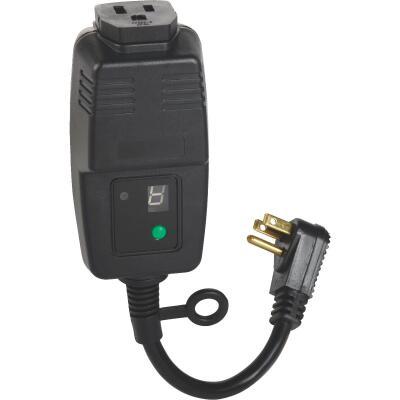 Do it 15A 120V 1800W Black Outdoor Timer