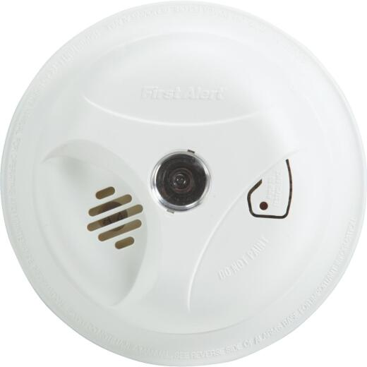First Alert Battery Operated 9V Ionization Smoke Alarm with Light