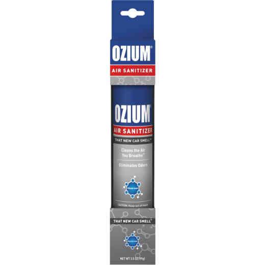 Ozium 3.5 Oz. Car Air Freshener/Sanitizer Spray, New Car Scent
