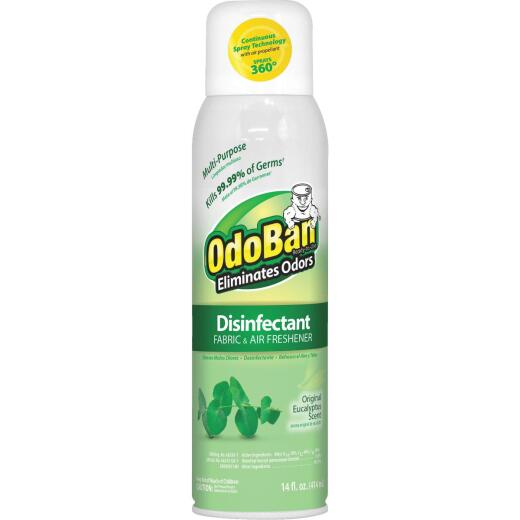 OdoBan 14 Oz. Eucalyptus Fabric & Air Freshener