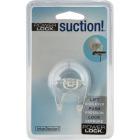 InterDesign Power Lock Suction Shower Razor Holder Image 2