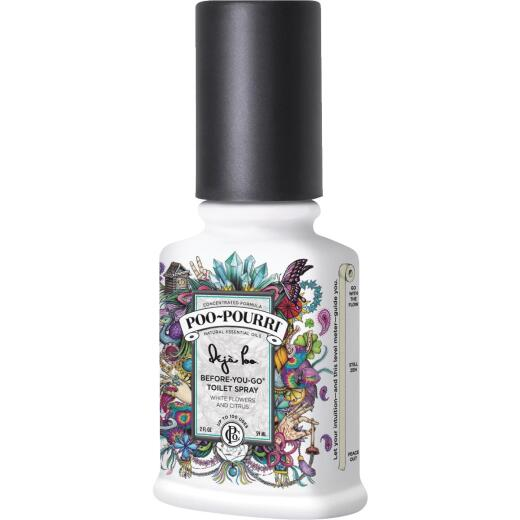 Poo-Pourri Deja Poo 2 Oz. White Flowers & Citrus Deodorizer Spray