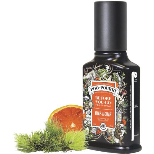 Poo-Pourri Trap a Crap 4 Oz. Deodorizer Spray