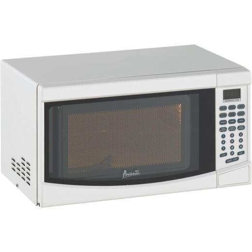 Avanti 0.7 Cu. Ft. White Countertop Microwave