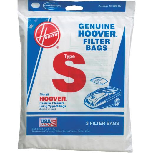Hoover Type S Standard Vacuum Bag (3-Pack)