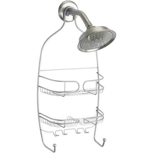 iDesign Neo Medium Silver Shower Caddy