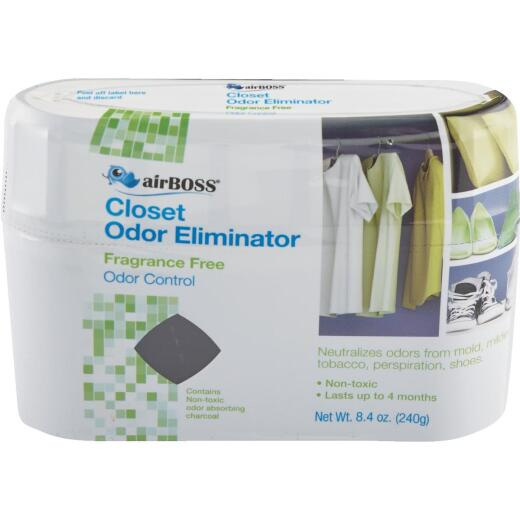 airBoss Up to 80 Cu. Ft. Coverage Charcoal Closet Freshener