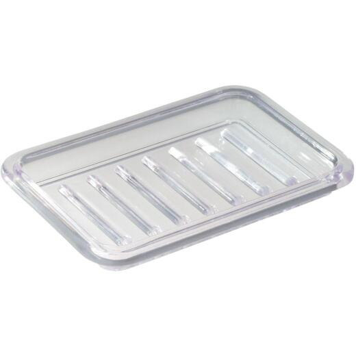 iDesign Royal Rectangular Textured Soap Dish