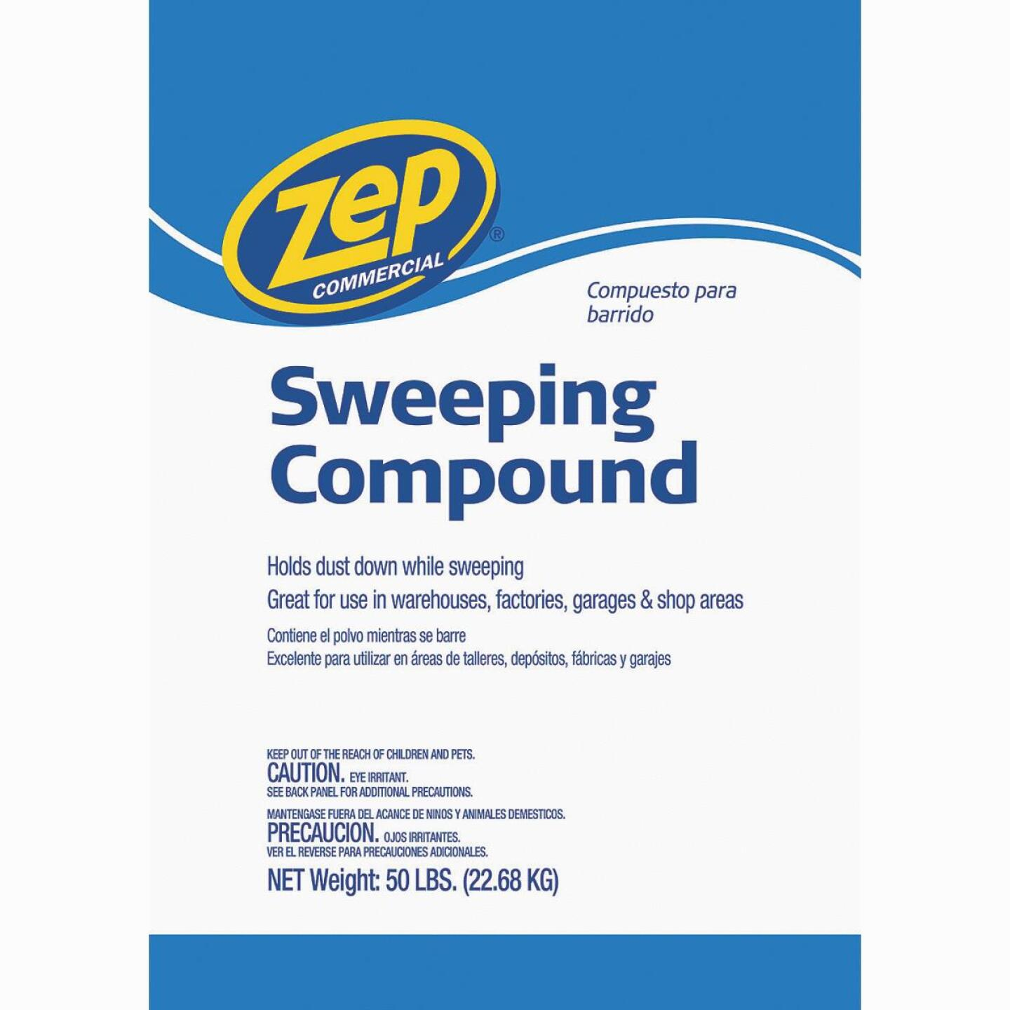 Zep Commercial 50 Lb. NonSoy Sweeping Compound Image 1