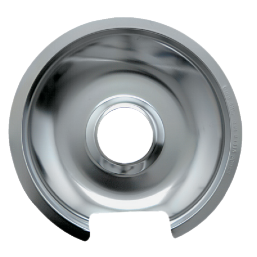 "Range Kleen Electric 6"" Style D Round Chrome Drip Pan"